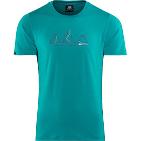 Mountain Equipment Triple Peak Tee Herre tasman blue